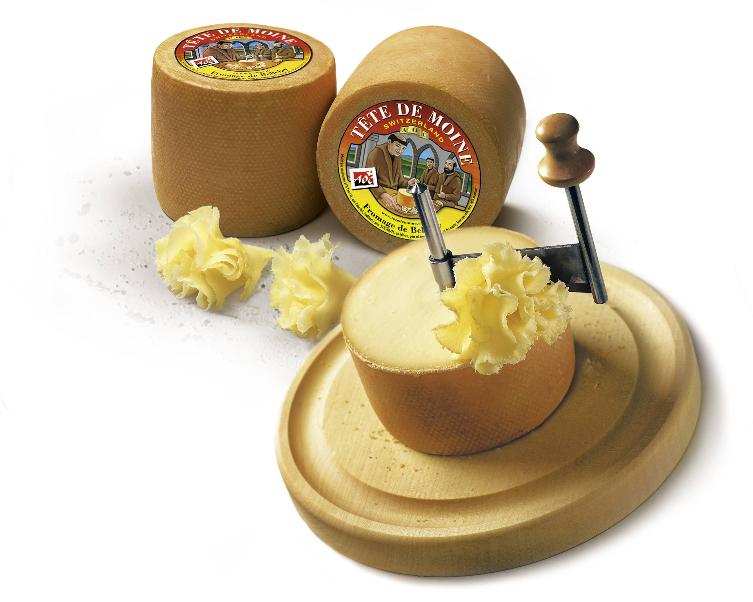 Girolle The Original Cheese Shaper The Red Cow