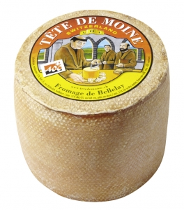 Tete de Moine Monk's Head Cheese from Switzerland