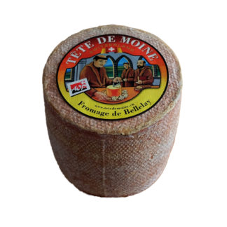 Tête de Moine - Swiss raw milk cheese