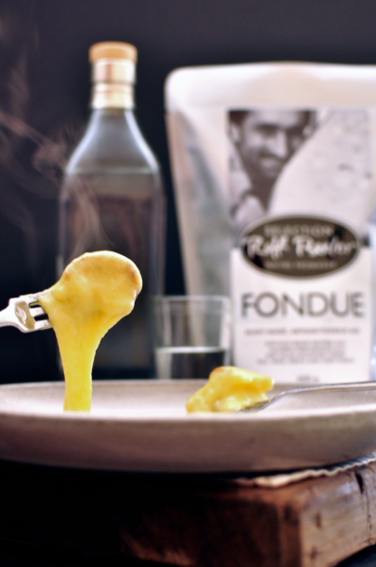 Melted Swiss cheese goodness - Rolf Beeler fondue