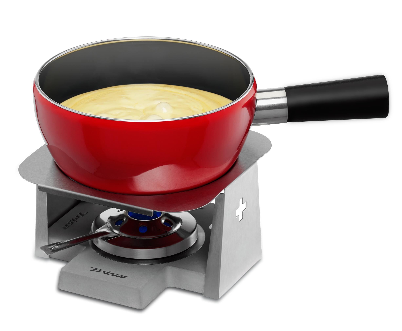 fondue set swiss cross the red cow. Black Bedroom Furniture Sets. Home Design Ideas