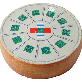 alpine cheese with 5% goat's milk