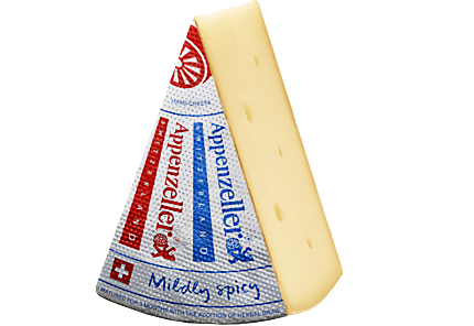Unpasteurised raw milk Swiss Appenzeller Classic