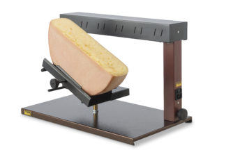 Half wheel raclette machine Ambiance