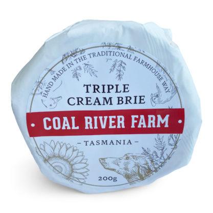 Coal River Farm Triple Cream Brie from Tasmania