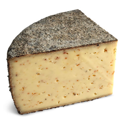 Rolf Beeler selected Hagebuttenkäse from the Swiss Toggenburg