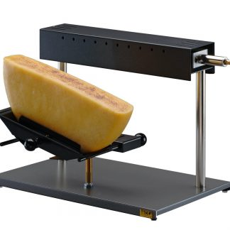 Gas operated raclette machine for outdoors