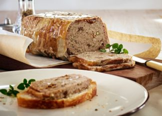Juliannes Kitchen Pork & Prune Terrine