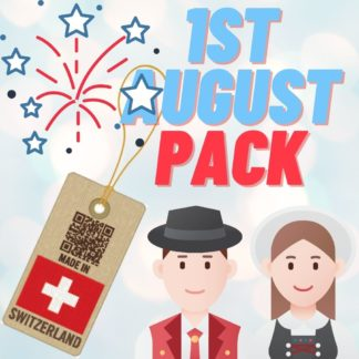 1st August Swiss National Day Celebration Pack