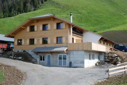 Alpkäserei Äbnisstetten in Hasle Entlebuch Switzerland Schweiz