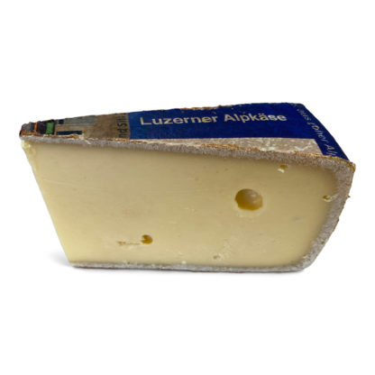 Luzerner Alpkäse made from high altitude unpasteurised raw milk from Switzerland