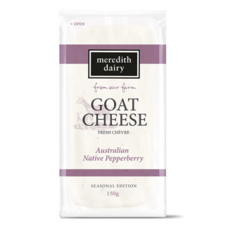 Meredith Goat's Cheese with Australian Native Pepperberry
