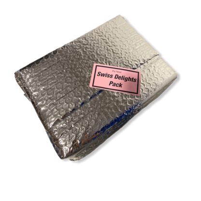 Swiss Delights Pack - Silver Outer Packaging