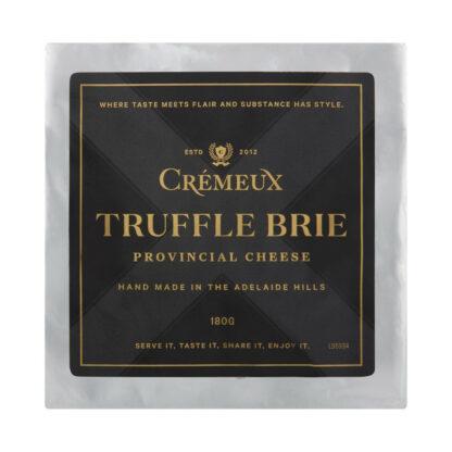 Cremeux Truffle Brie 180g
