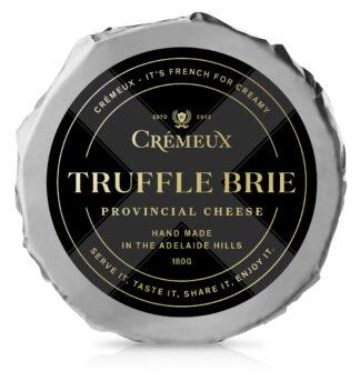 Cremeux Truffle Brie