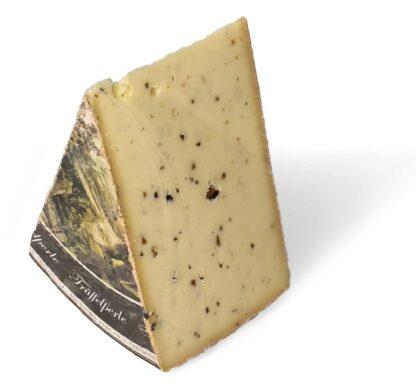 Trueffelperle Swiss semi-hard cheese with black Italian truffles